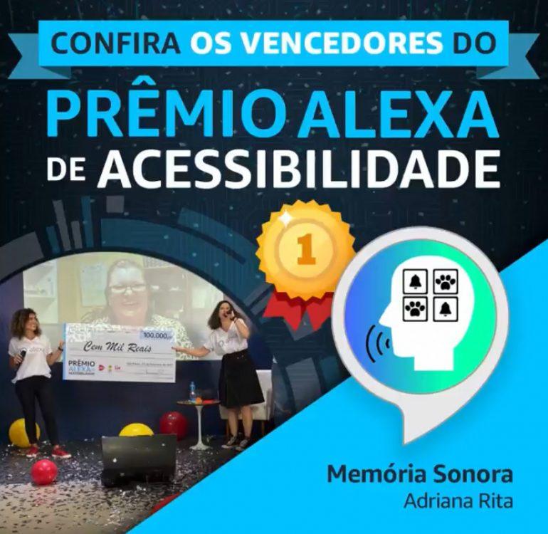 Splora ganha o 1º lugar no Prêmio Alexa de Acessibilidade